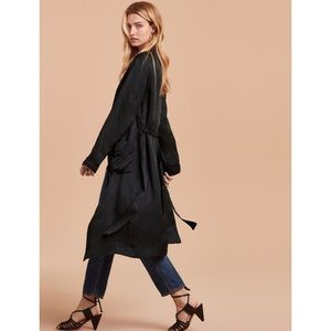 Wilfred Pilier Duster Robe Jacket from Aritzia S